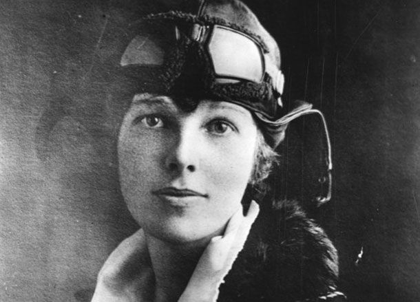 Amelia Earhart - Amelia Mary Earhart   (born July 24, 1897, Atchison, Kan., U.S.—disappeared July 2, 1937, near Howland Island, central Pacific Ocean), American aviator, one of the world's most celebrated, who was the first woman to fly alone over the Atlantic Ocean.