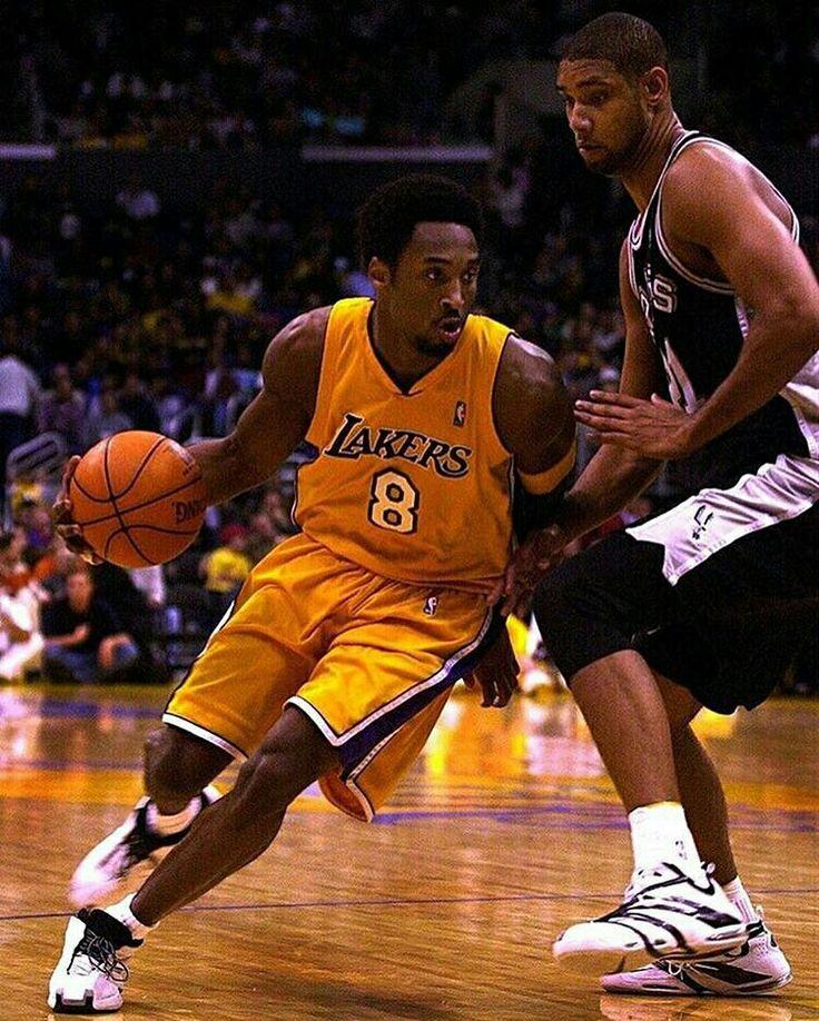 Kobe Bryant vs Tim Duncan