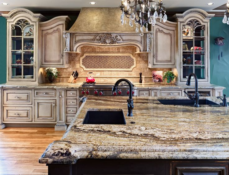 Bev Adams On What Makes The Perfect Kitchen? Here, She Uses Ornate Stone  Counter