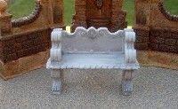 Outdoor Resin Victorian Bench