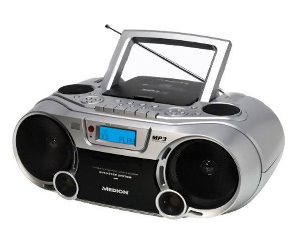 Boombox CD MP3 AUX USB cyfrowe radio 2 x 28 W
