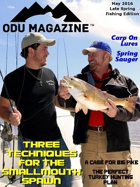 13 best images about odu fishing magazines all digital for Bass fishing magazine