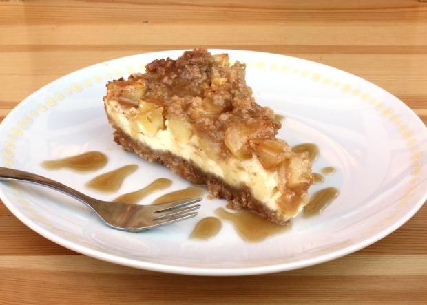 Bezlepkový jablkový cheesecake, recept | Naničmama.sk