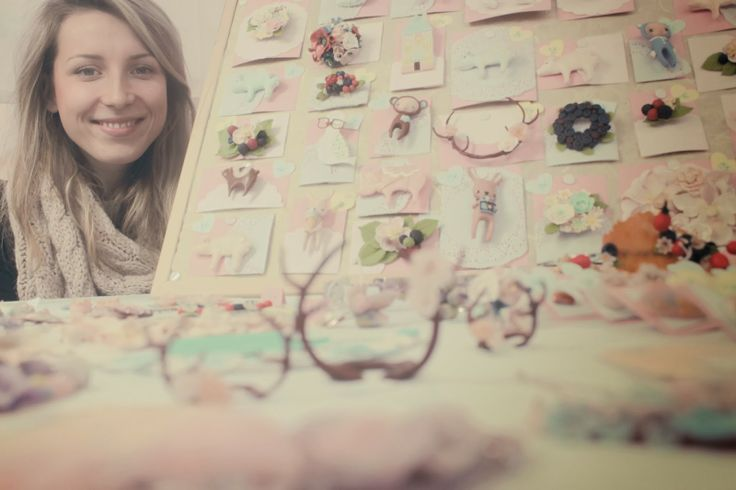get to know me get to know me http://habologique.blogspot.sk #polymerclay #jewellery at Urban Market, #Bratislava