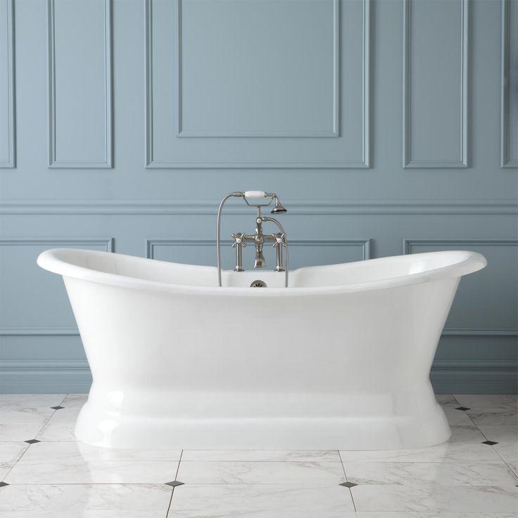 Best Pedestal Tub Ideas On Pinterest Bathroom Tubs Double - Bath runner 72 for bathroom decorating ideas