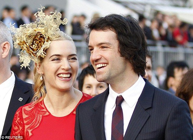 Kate with her third husband, Ned Rocknroll, who she describes as 'the most enthusiastic pe...