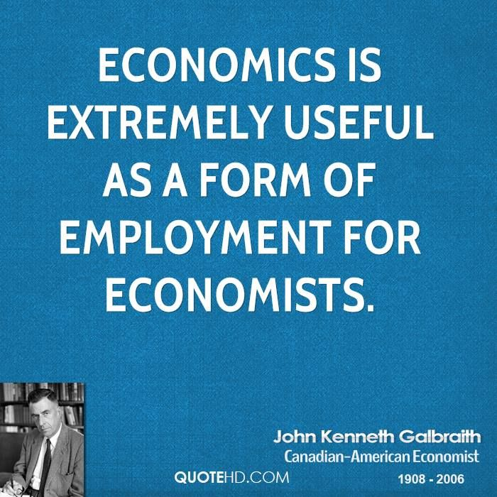 Home Economics Optimization Quotes