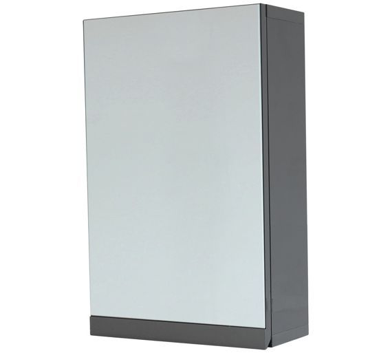 Buy Hygena Gloss Wall Cabinet - Grey at Argos.co.uk, visit Argos.co.uk to shop online for Bathroom cabinets, Bathroom furniture, Home and garden