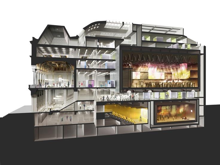 Teatro convertido em centro cultural em Paris   arktalk