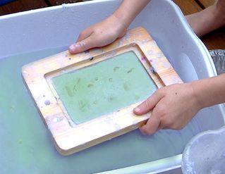 Výroba papíru zbanánových slupek