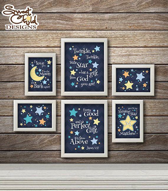 Best 25+ Star nursery ideas on Pinterest | Moon nursery ...