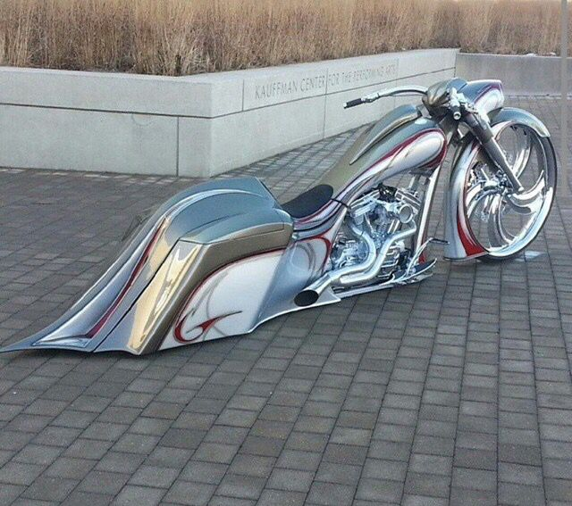 Now That is some serious CHROME.