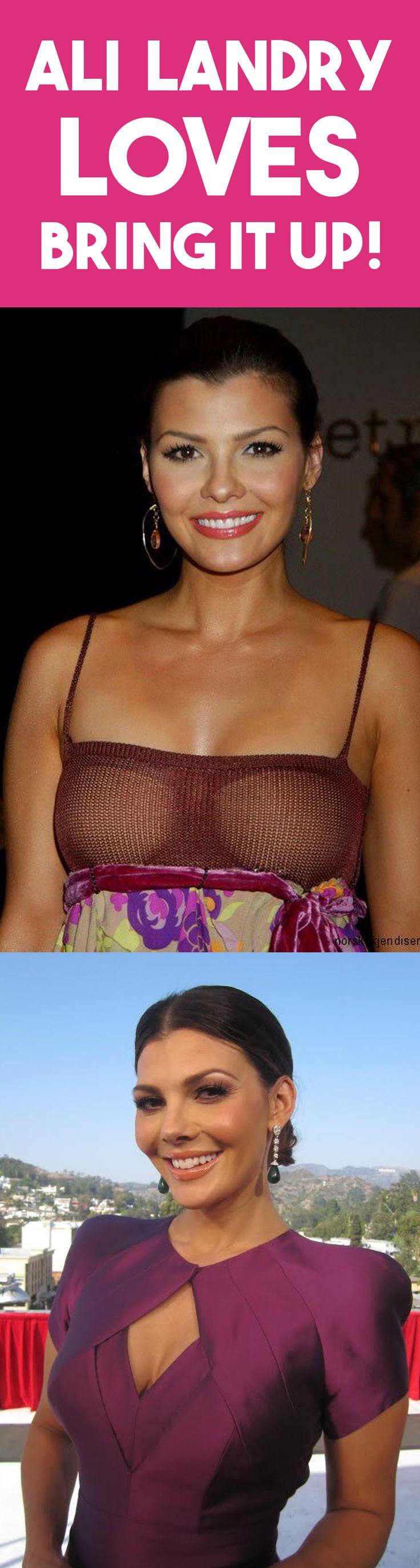 Even Ali Landry loves our breast shapers! Here she is wearing our products at a fancy evening event. They provide ultimate hold, and work with backless, strapless and spaghetti straps! With summer here, you can show off your curves in your most scandalous outfits. Celebrity approved!  #bras #stickybra #stickonbra #pasties #breastlifts #breastshapers #bringitup #shop #summer #summerbody #curvywomen #curves #sexy #alilandry #celebrity #backlesstops #strapless