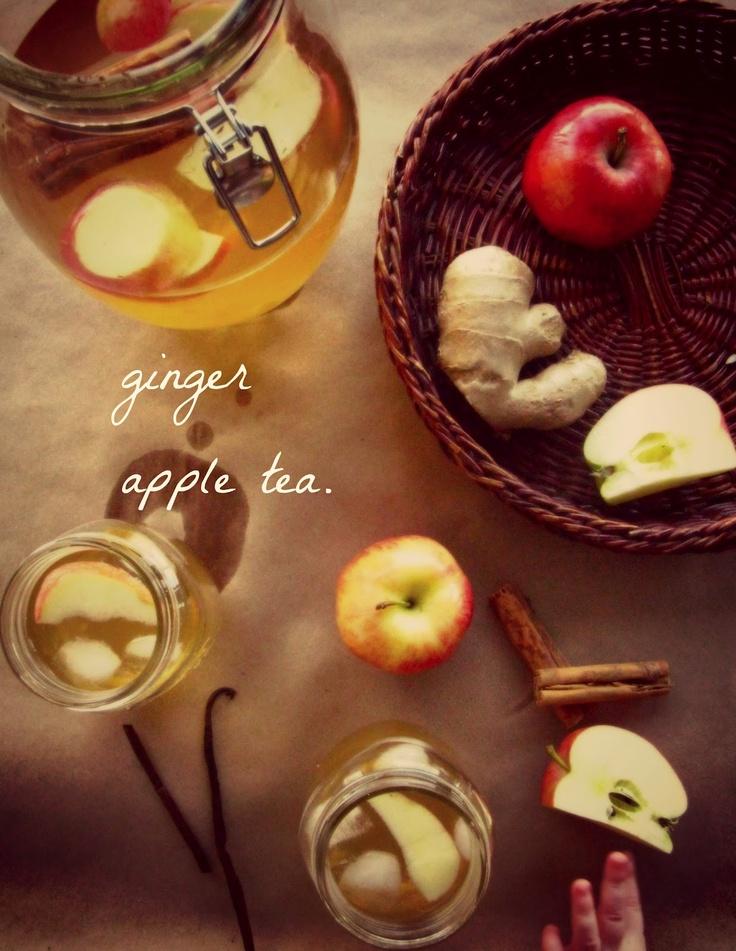 Bu Yaşamın En: Zencefil Elma Çayı :: sıcak veya soğuk
