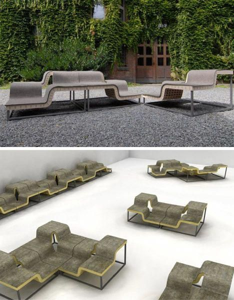 modular-multiple-seating-outdoor-benches #modularfurniture - Modular-multiple-seating-outdoor-benches #modularfurniture Modular