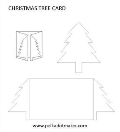 Рождественская открытка своими шаблон, открытки дружбой