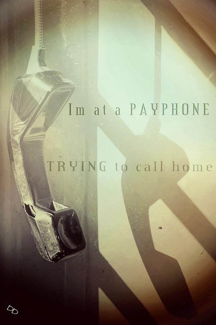 Payphone. Maroon 5.