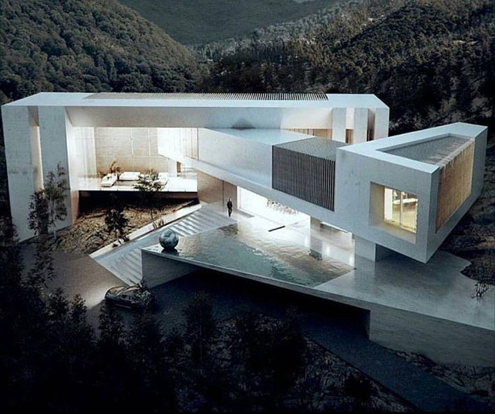 O que rotula uma casa instantaneamente como moderna hoje? Sustentabilidade, a busca pela auto-suficiência energética é um ponto-chave. A conclusão de um projeto inteligente adequado para suportar as intempéries do seu habitat outro quesito importante.Amplitude, linhas limpas, simetria, transparência. Há lugares destinados a felicidade.