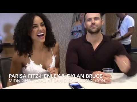 Parisa Fitz-Henley (Fiji) & Dylan Bruce (Bobo) talk Midnight, Texas @ParisaFH @DylanBruce @NBCMidnightTX @Comic_Con @nbc #ParisaFitzHenley #DylanBruce #MidnightTX #SDCC #NBC  @ParisaFH @DylanBruce @NBCMidnightTX @Comic_Con @nbc #MidnightTX #SDCC #NBC #Fiji #Bobo #Fangirling #Interview #Roundtable