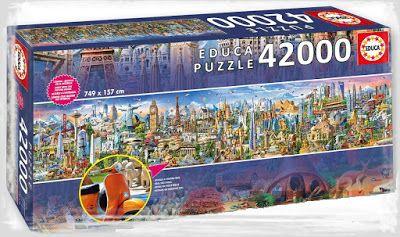 Educa ''World Landmarks'' 42.000 parça..!!