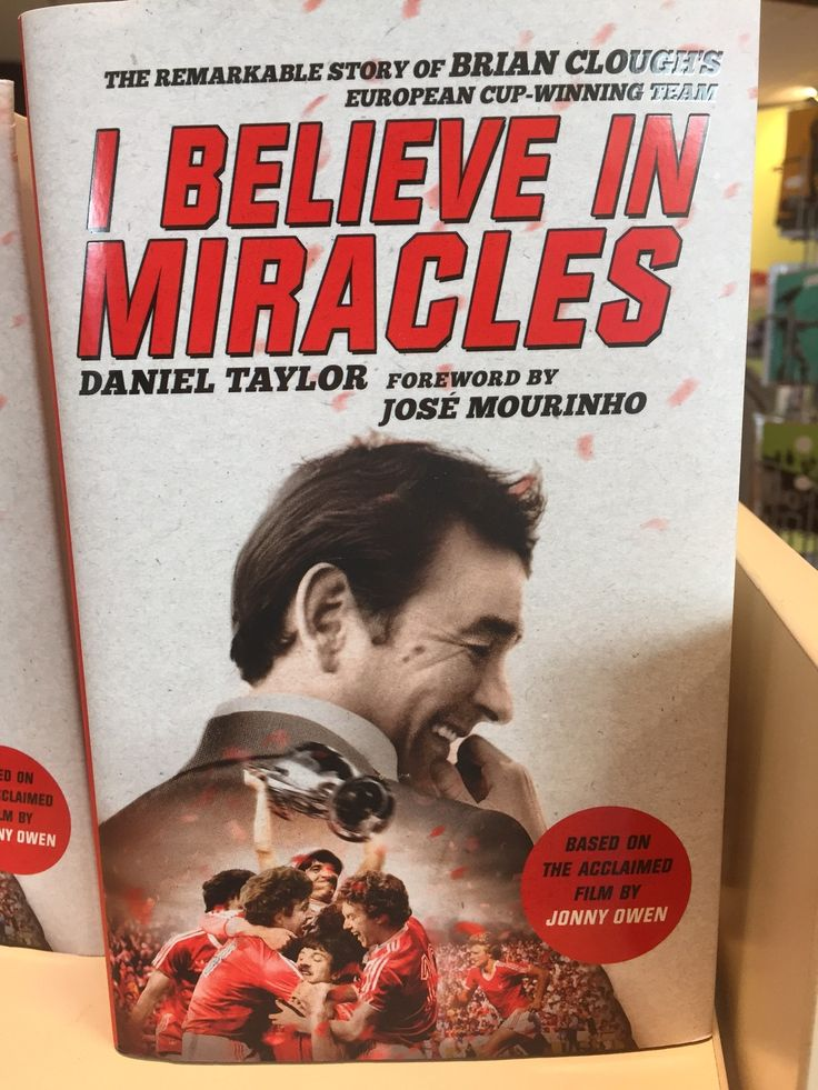 I Believe In Miracles by Dan Taylor and Jonny Owen