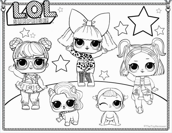 Lol Coloring Pages Coloring Pages Lol Dolls Coloring Pages Great