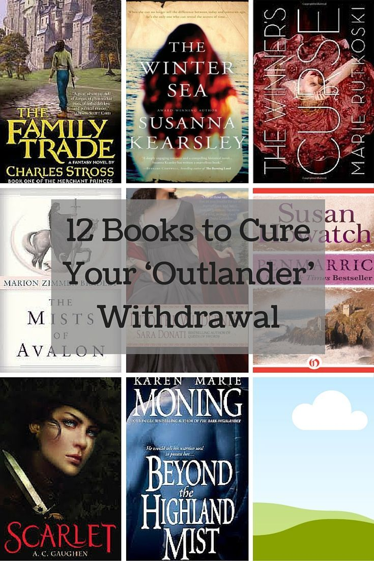 12 Books to Read If You Love Outlander - Books for Outlander fans to devour! Featuring time travel, strong heroines, the Scottish highlands, and more