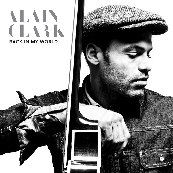 single cover art: alain clark - back in my world [04/2013]