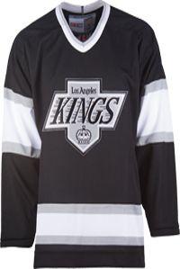 Los Angeles Kings CCM Vintage 1988 Black Replica NHL Hockey Jersey