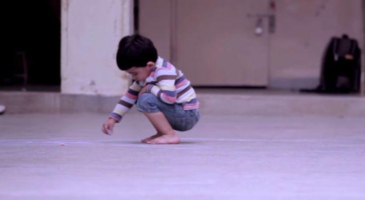 Cette vidéo a été inspirée d'une histoire vraie qui s'est déroulée dans un orphelinat en Iraq pendant la guerre.