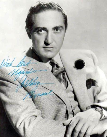 Sheldon Leonard, actor, producer, writer, director 1907-1997