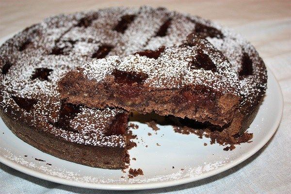 Crostata cocco cacao e marmellata di fragole :http://ropa55.it/crostata-cocco-cacao-e-marmellata-di-fragole/