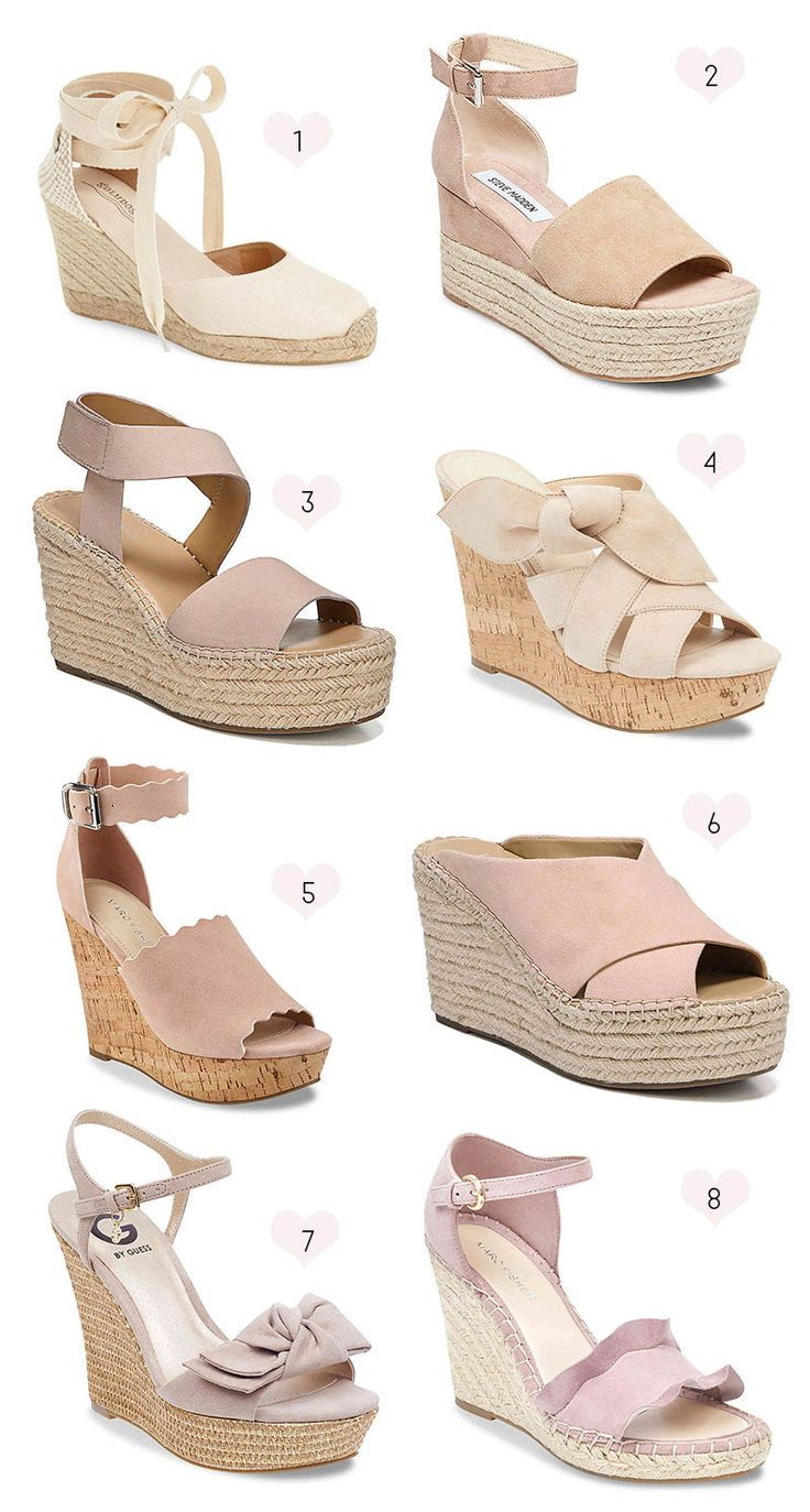 Summer shoes wedges