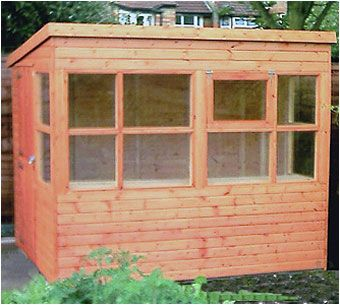 If you are a keen gardener then look no further for this potting shed. Light and airy with a stable door and a fitted shelf as standard, the Potting Shed still gives you room to hang your tools. Available from Adrian Hall Garden Centres, Feltham.