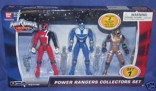 Power Rangers SPD Red Time Force Blue Ranger Cyclobot | eBay