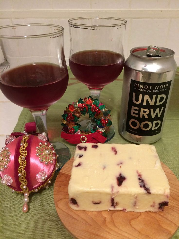 Underwood Pinot Noir and Wensleydale Cheese