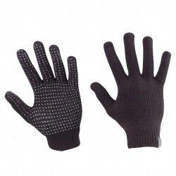 Gants tricot noir