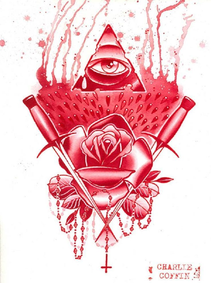 Pyramid Eye by Charlie Coffin New Age of Providence Canvas Art Print