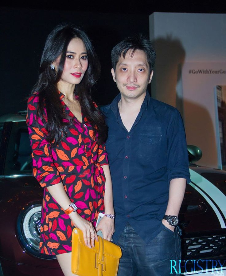 Mrs. & Mr. Houston Jusuf at @BMW_Indonesia launched its New Mini Clubman on the 18th of March 2016 at @pttheadgarage #RegistryE #Event