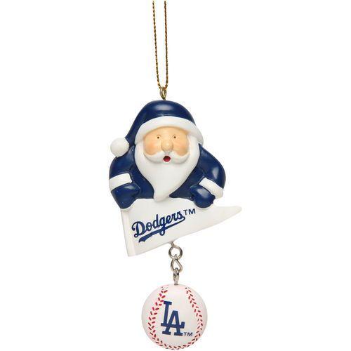 Los Angeles Dodgers Santa With Team Ball Ornament #TheMemoryCompany