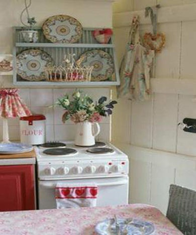 Another adorable kitchen - Home Decorating & Design Forum - GardenWeb (this is a charming website if you like cottage decor)