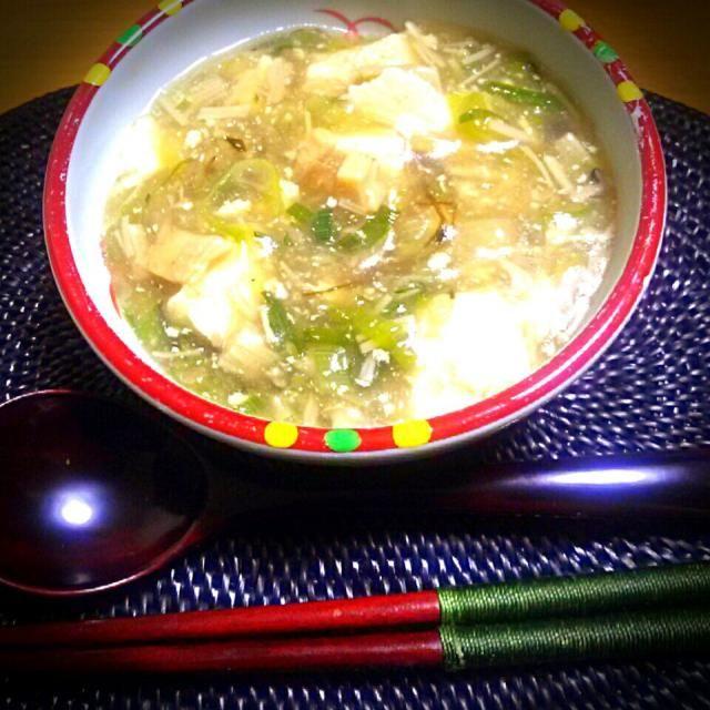 胃がお疲れさん 今日は粗食で餡掛け豆腐~ - 74件のもぐもぐ - 3種のキノコ餡掛け豆腐 ♡ by ゆず( ˘ ³˘)♥