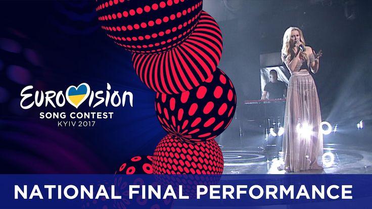 Kasia Moś - Flashlight (Poland) Eurovision 2017 - National Final Perform...