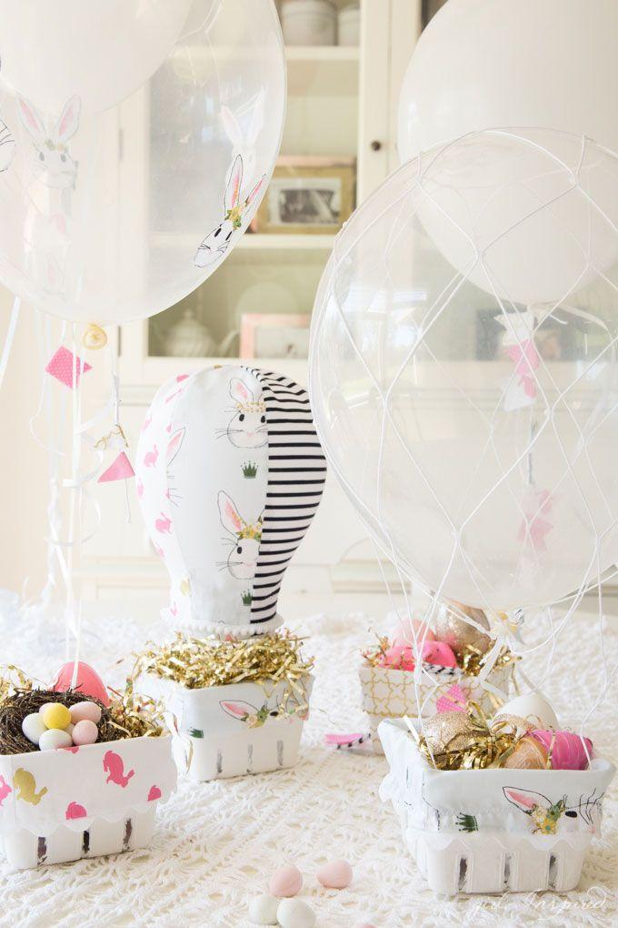 Balloon Easter Baskets