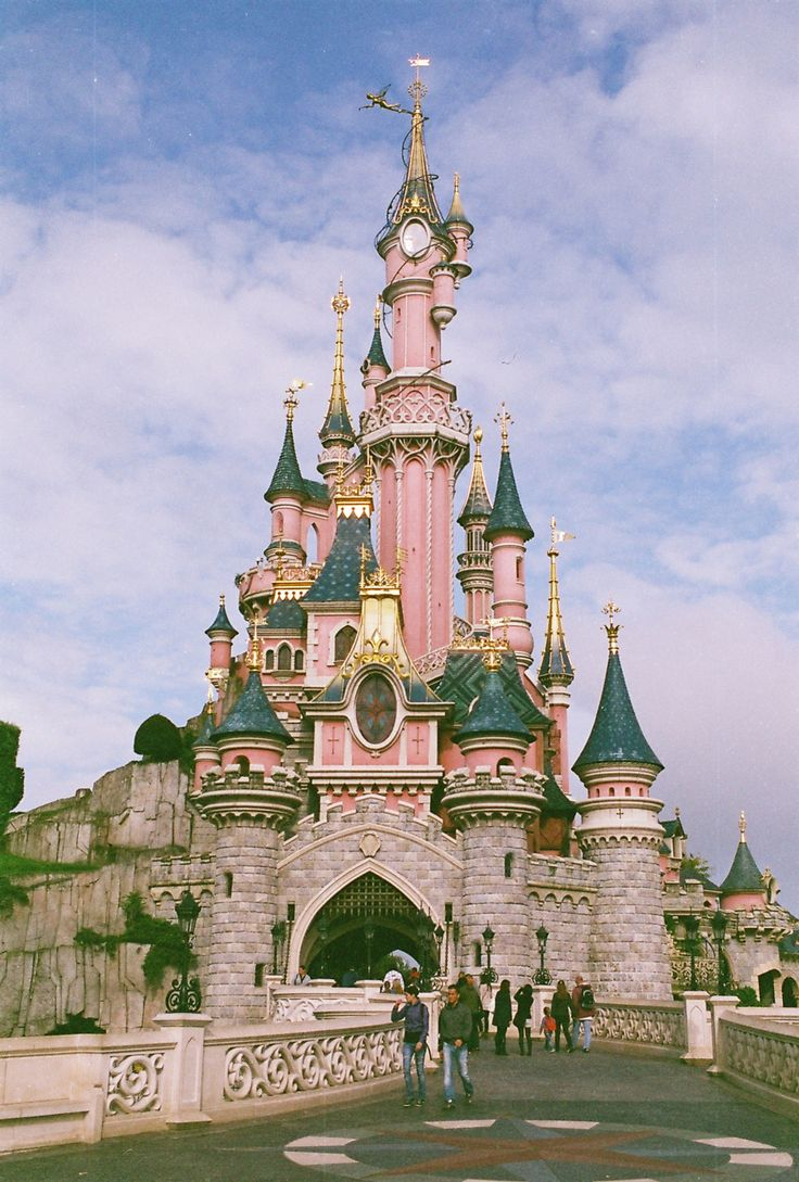 Candy pink castle
