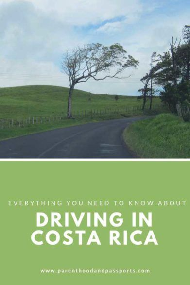 Driving in Costa Rica - From safety, to speed limits and road conditions, we cover all the important information you need to know before driving in Costa Rica #costarica