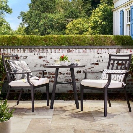 www.target.com p fairmont-3-piece-steel-patio-bistro-set-threshold - A-52018939