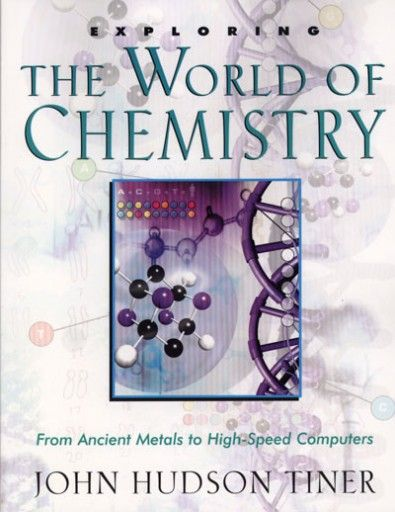 Exploring the World of Chemistry. This book presents an exciting and intriguing tour through the realm of chemistry as each chapter unfolds with facts and stories about the discoveries and discoverers. Find out why pure gold is not used for jewelry or coins. Join Humphry Davy as he made many chemical discoveries, and learn how they shortened his life. See how people in the 1870s could jump over the top of the Washington Monument. Exploring the World of Chemistry brings science to life and is…
