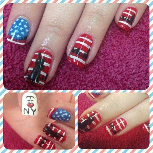 I Love NY Nails by Kayla