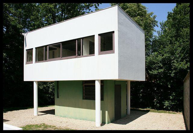 Maison Gardien Villa Savoye Small Prefab Modular